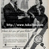 Rolex【ロレックス】の広告 -1959年-