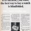 Bulova【ブローバ】の広告 -1967年-