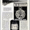 Hamilton【ハミルトン】の広告 -1925年-
