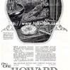 Howard【ハワード】の広告 -1925年-