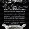Longines【ロンジン】の広告 -1947年-