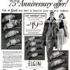 Elgin【エルジン】の広告 -1939年-