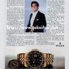 Rolex【ロレックス】の広告 -1984年-