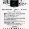 Waltham【ウォルサム】の広告 -1922年-
