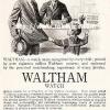 Waltham【ウォルサム】の広告 -1911年-