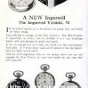 Ingersoll【インガーソル】の広告 -1924年-