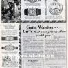 Gruen【グリュエン】の広告 -1929年-