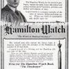 Hamilton【ハミルトン】の広告 -1915年-