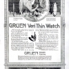 Gruen【グリュエン】の広告 -1914年-