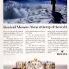Rolex【ロレックス】の広告 -1985年-