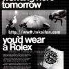 Rolex【ロレックス】の広告 -1969年-