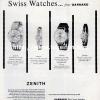 Zenith【ゼニス】の広告 -1963年-