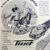 Tissot【ティソ】の広告 -1947年-