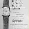 Girard Perregaux【ジラールペルゴ】の広告 -1951年-