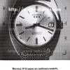 Benrus【ベンラス】の広告 -1967年-