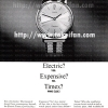 Timex【タイメックス】の広告 -1965年-