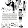 Longines【ロンジン】の広告 -1926年-
