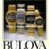 Bulova【ブローバ】の広告 -1977年-