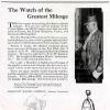Hamilton【ハミルトン】の広告 -1921年-