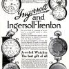 Ingersoll【インガーソル】の広告 -1911年-