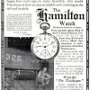 Hamilton【ハミルトン】の広告 -1911年-