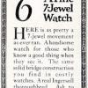 Ingersoll【インガーソル】の広告 -1922年-