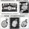 Ingersoll【インガーソル】の広告 -1930年-