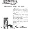 Hamilton【ハミルトン】の広告 -1955年-