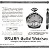 Gruen【グリュエン】の広告 -1922年-
