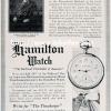 Hamilton【ハミルトン】の広告 -1913年-