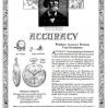 Waltham【ウォルサム】の広告 -1921年-