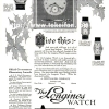 Longines【ロンジン】の広告 -1924年-