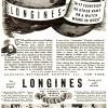 Longines【ロンジン】の広告 -1937年-