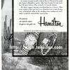 Hamilton【ハミルトン】の広告 -1954年-