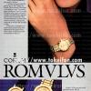 Corum【コルム】の広告 -1986年-