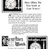 Hamilton【ハミルトン】の広告 -1923年-