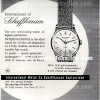 IWC【インターナショナルウォッチカンパニー】の広告 -1957年-