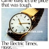 Timex【タイメックス】の広告 -1969年-