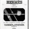 Vacheron Constantin【バセロンコンスタンチン】の広告 -1938年-