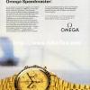 Omega【オメガ】の広告 -1981年-